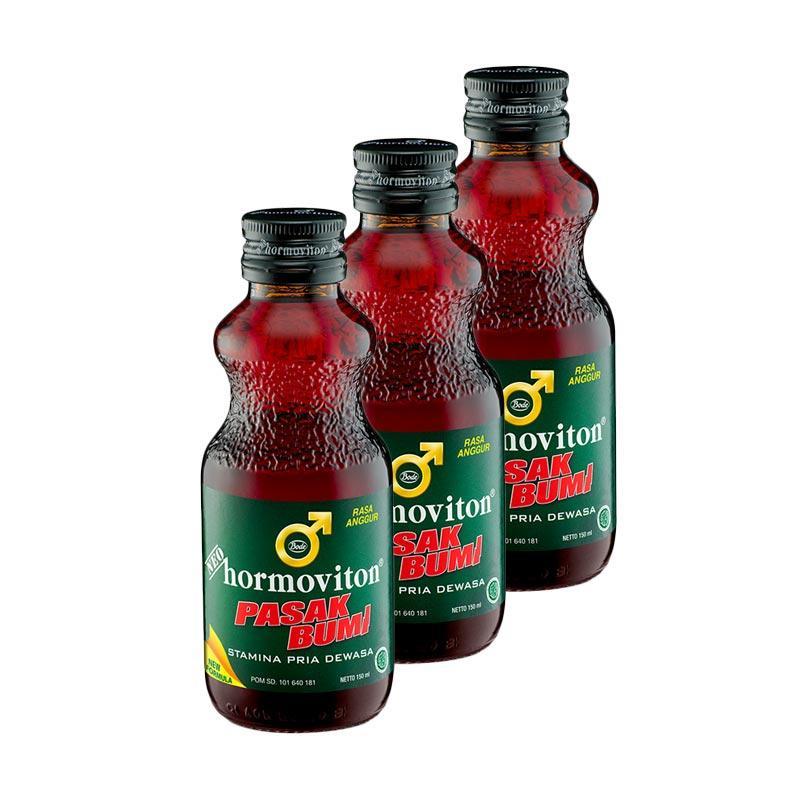 Neo Hormoviton Pasak Bumi Liquid Anggur Minuman [3 Pcs/ 150 mL]