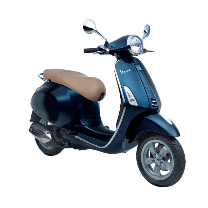 harga Vespa Primavera 150 i-Get Sepeda Motor - Blu Midnight [OTR Bandung] Blibli.com