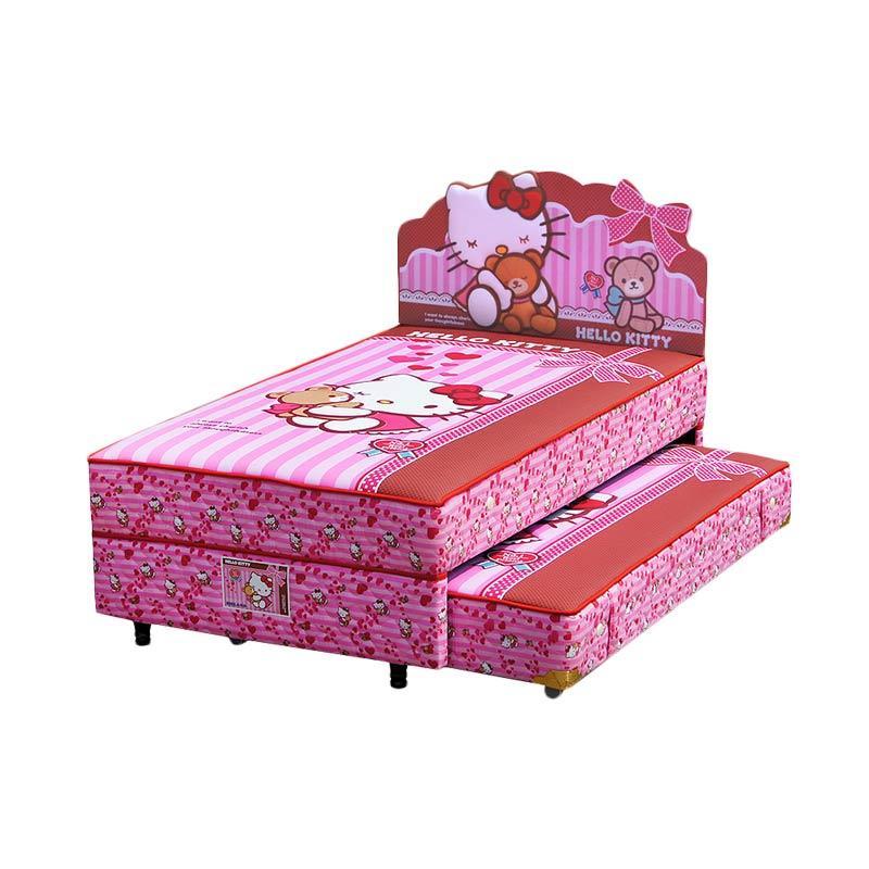 harga FCENTER Bigland 2in1 Sorong Hello Kitty Best Friend Set Springbed [Full Set] Khusus PULAU JAWA*) Blibli.com