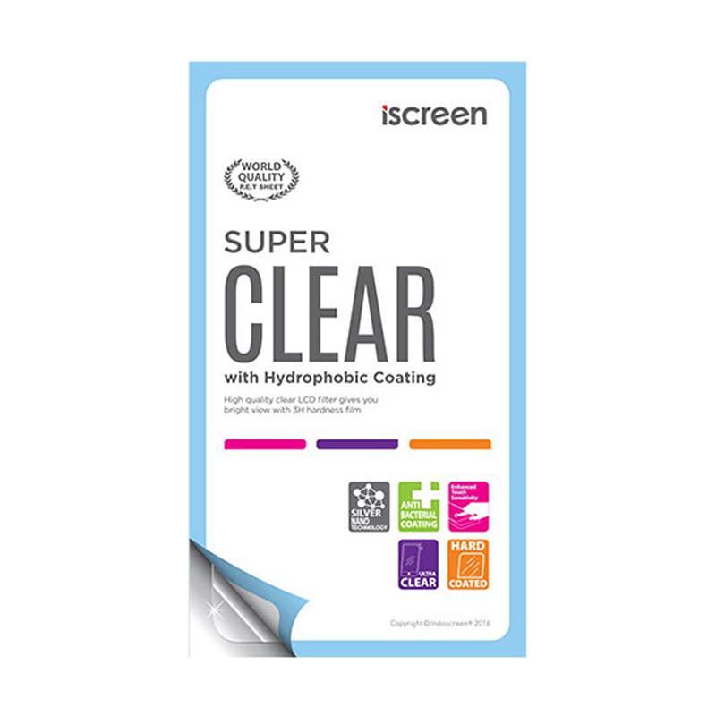 IndoScreen iScreen Anti Gores Screen Protector for Samsung Galaxy E7 E700F - Clear