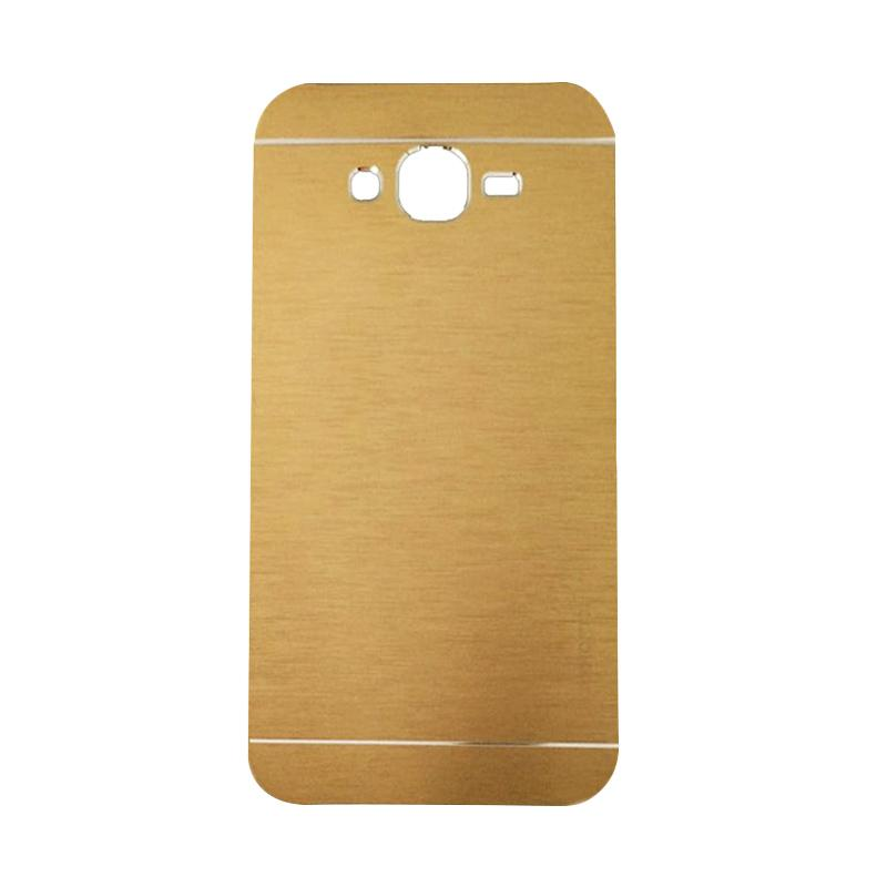 Motomo Metal Hardcase Casing for Samsung Galaxy A3 or A300F - Gold