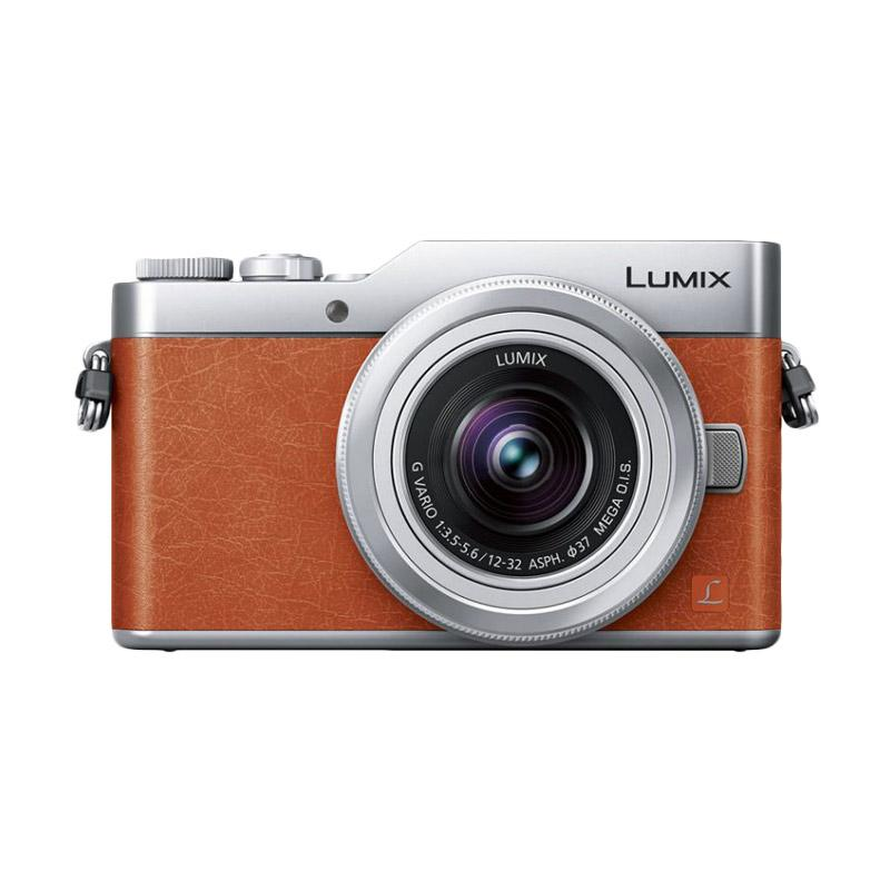 Panasonic Lumix DMC-GF9 Kit 12-32mm ASPH MEGA O.I.S. Kamera Mirrorless - Orange + Free Memory Micro 32GB Class 10 + LCD Screen Guard