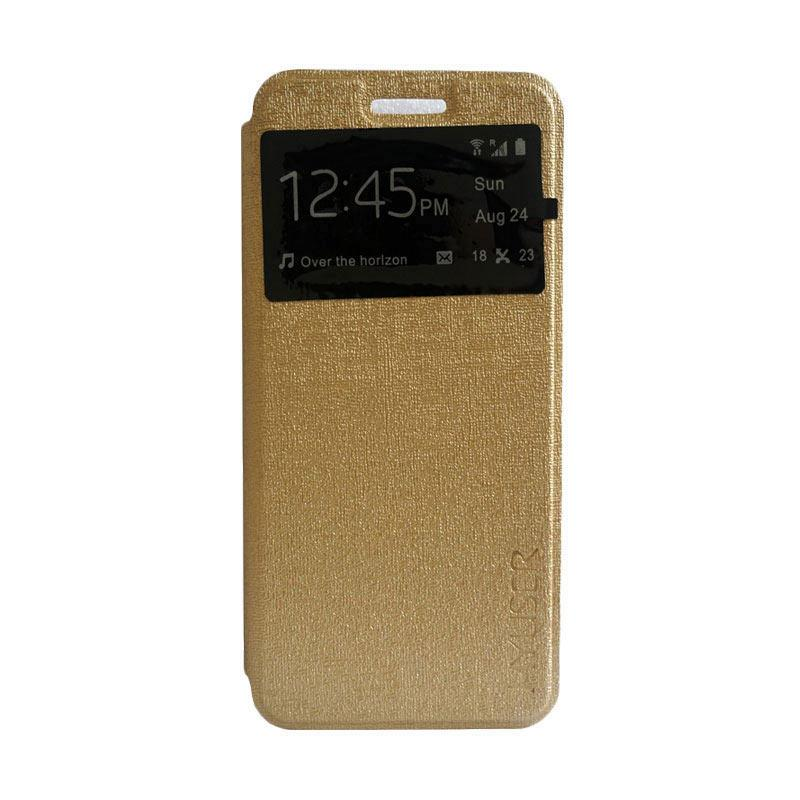 info for 31226 c7c5b MyUser Flip Cover Casing for Samsung Galaxy Grand 2 G710 - Gold