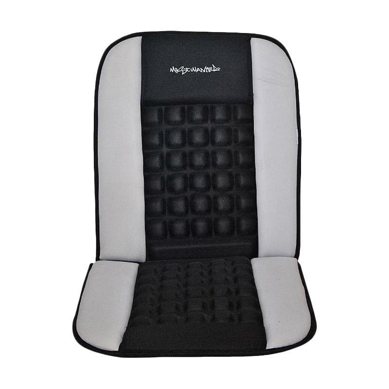 Saizen Mostwanted Cushion Seat Sandaran Mobil Pijat - Grey