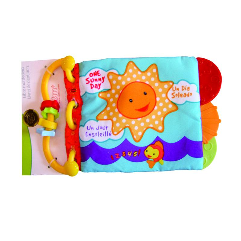 MyKenzie Baby Soft Book Seri Animal Cover Sunny Mainan Anak