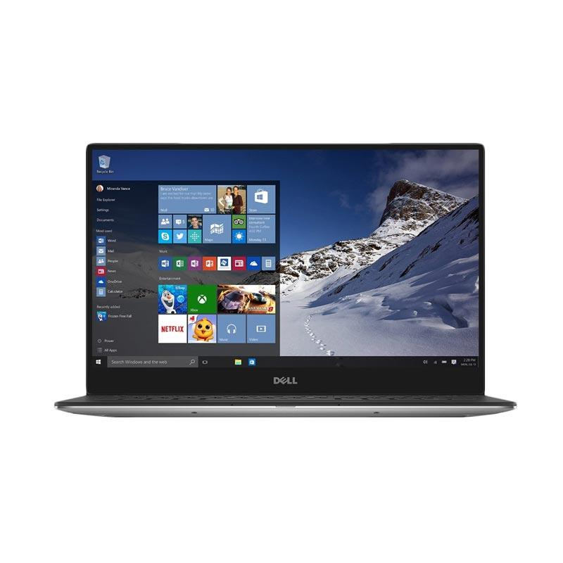DELL Touch XPS 13 9360 Notebook - Silver [Ci7-7500U/ 8GB/ 256GB/ Intel HD/ Windows 10]