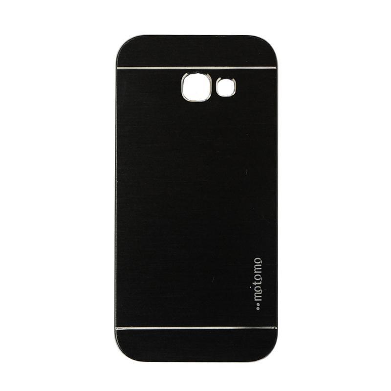 Motomo Metal Hardcase Casing for Samsung Galaxy A520 or A5 2017 - Black