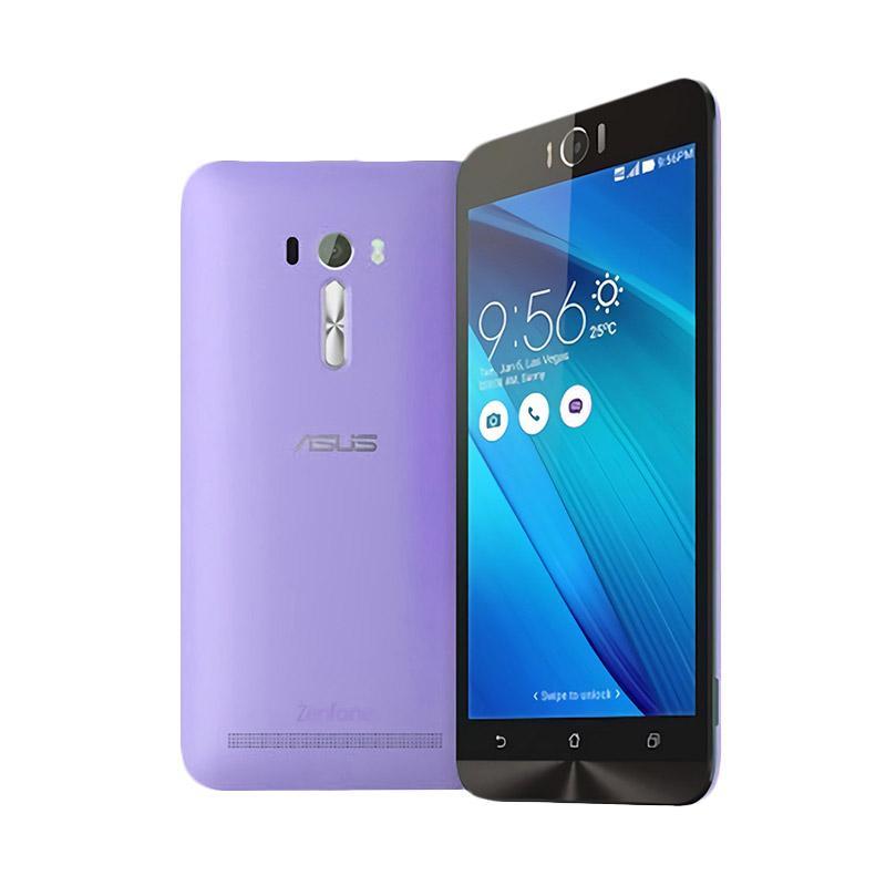 Aircase Ultrathin for Zenfone Selfie 2D551KL - Purple Clear