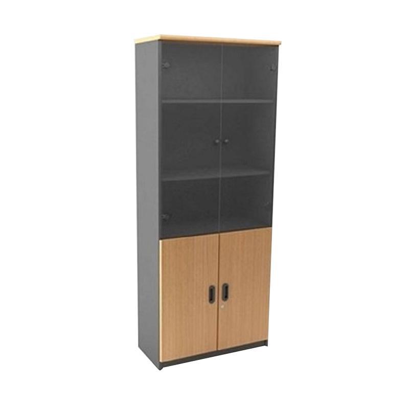 Uno Classic UST 1530 C Lemari Arsip Tinggi [5 Ruang Pintu Kombinasi]