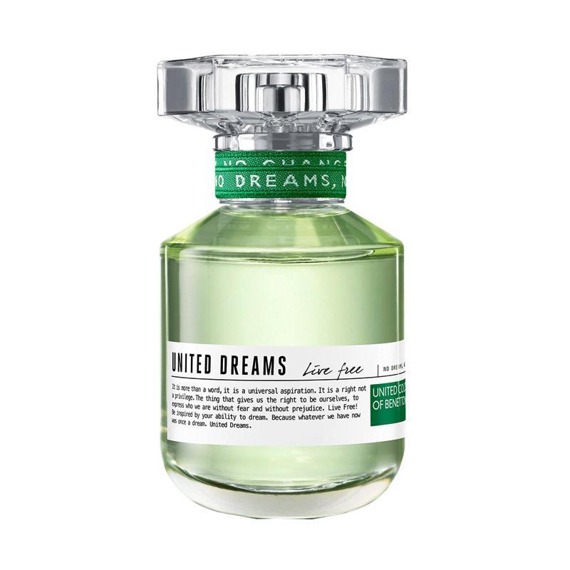 Benetton United Dreams Live Free for Woman EDT Parfum [80 mL]