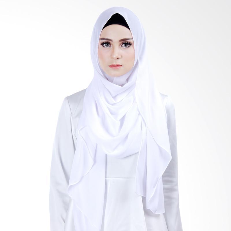 Cantik Kerudung Scarlett Slip In Instant  - White