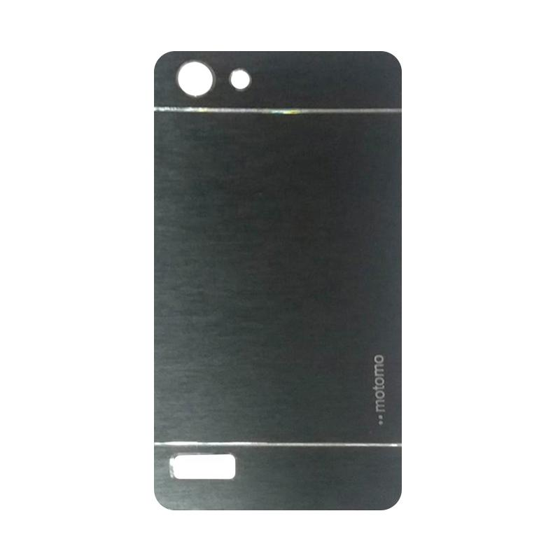 Motomo Metal Hardcase Backcase Casing for Oppo Neo 7 or A33T - Black