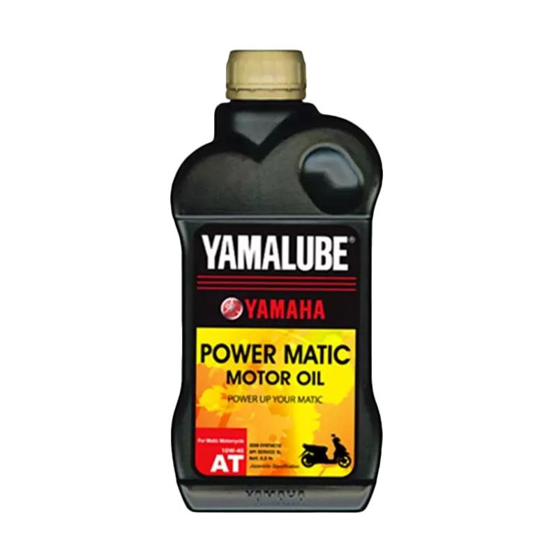 Yamaha Genuine Parts Yamalube Power Matic 10W-40 Oli Mesin [0.8 L] OME1077