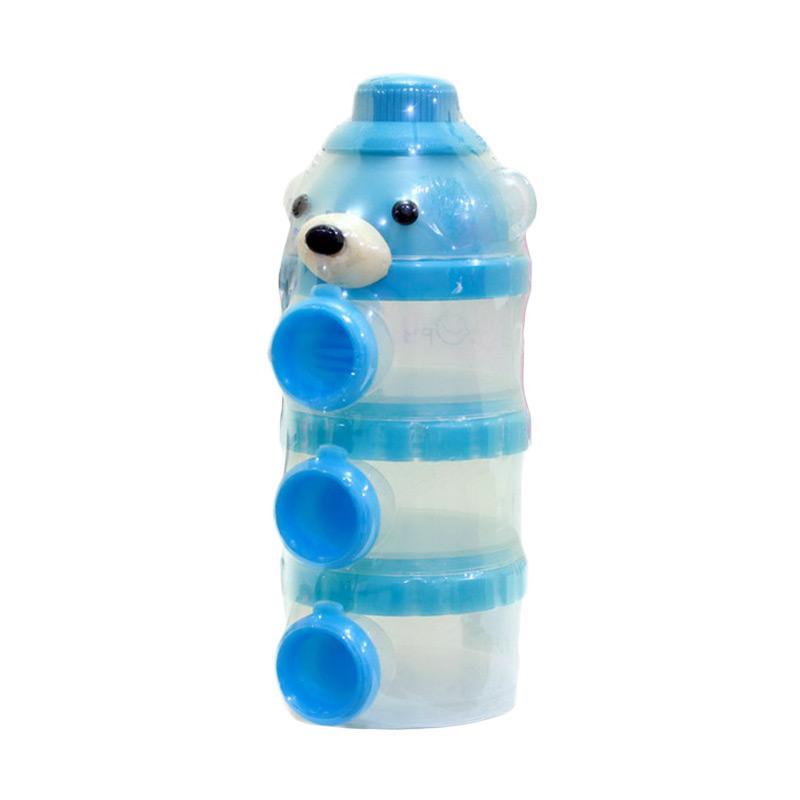 Chloebaby Shop S192 Little Bear Container Susu - Blue [100 mL]