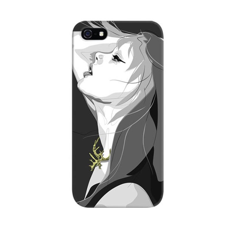 Indocustomcase Breath Girls Custom Hardcase Casing for Apple iPhone 5/5S/SE