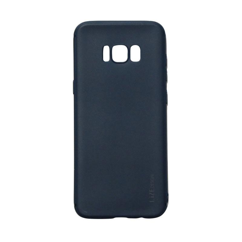 Lize Candy Case Style Softshell Softcase Casing for Samsung Galaxy S8 - Navy
