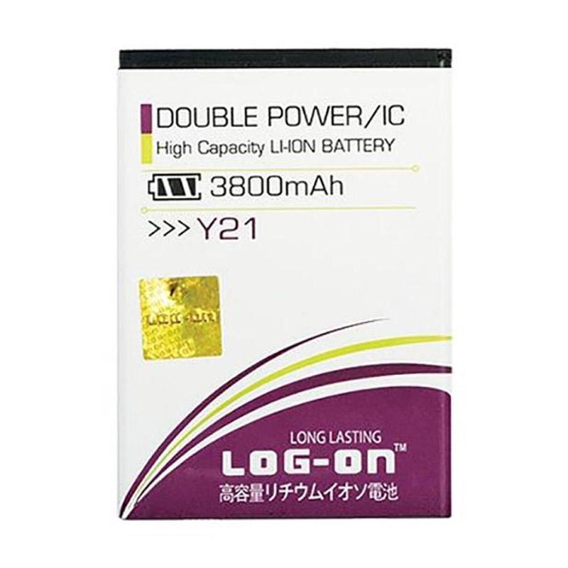 Log On Double Power & IC Battery for Vivo Y21 [3800 mAh