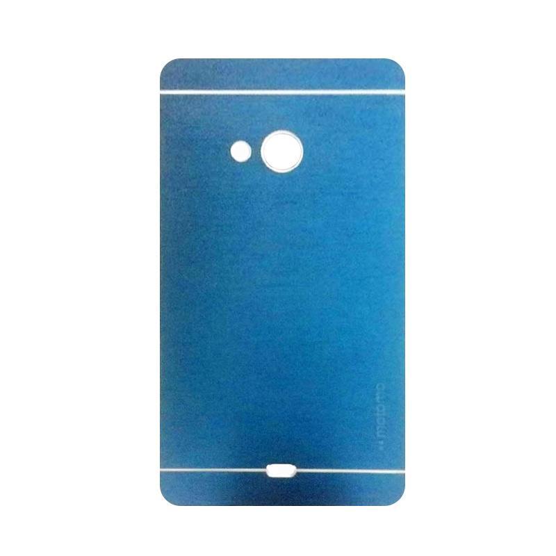Motomo Metal Hardcase Casing for Microsoft Lumia 540 - Dark Blue