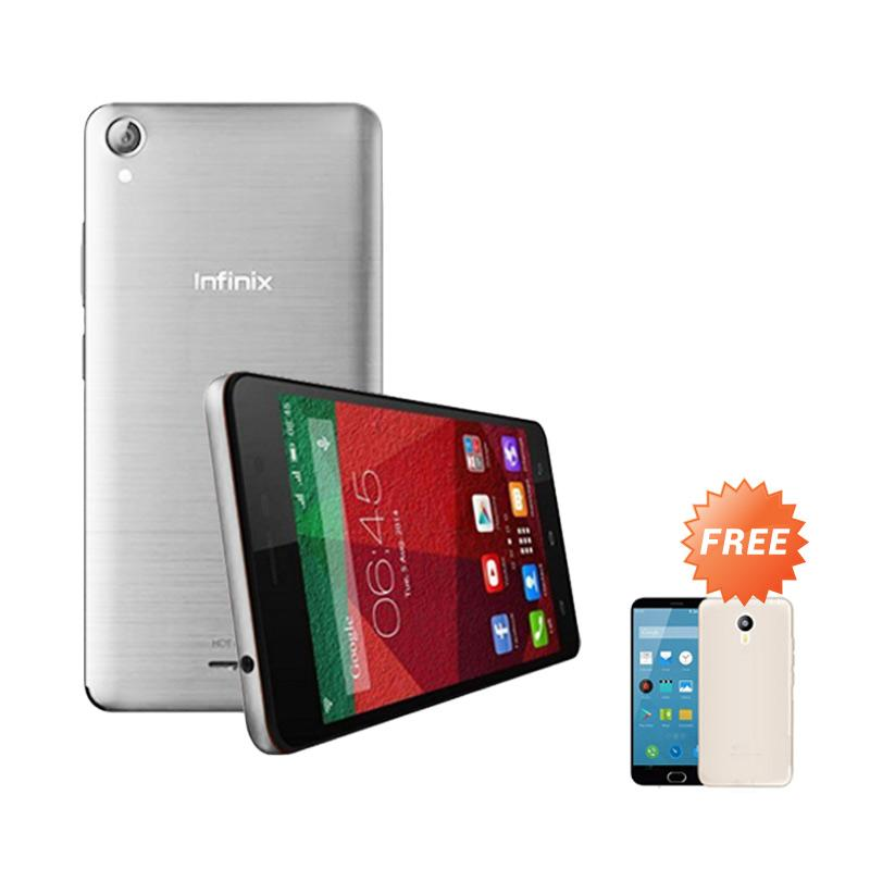 Ultrathin Casing for Infinix Hot Note - Clear + Free Ultra Thin
