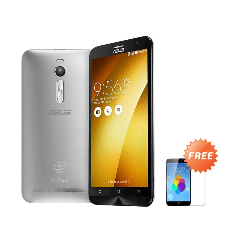 Ultrathin Aircase Casing for Zenfone 2 ZE551ML - Clear + Free Tempered Glass