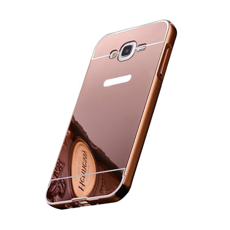 Bumper Mirror Sliding Casing for Samsung Galaxy S3 - Rose Gold