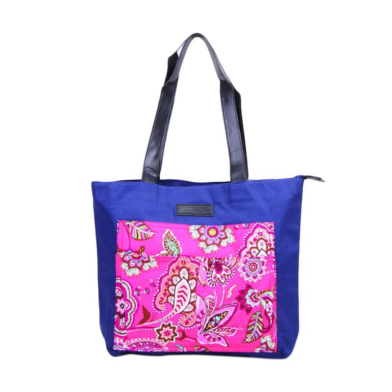 Machupicchu Tote Bag Motif BTO-13 Tas Wanita - Pink Paisley