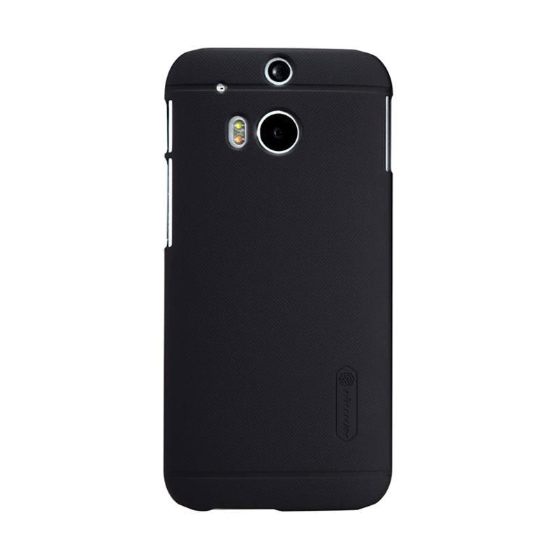 Nillkin Original Super Shield Hardcase Casing for HTC One M8 - Black