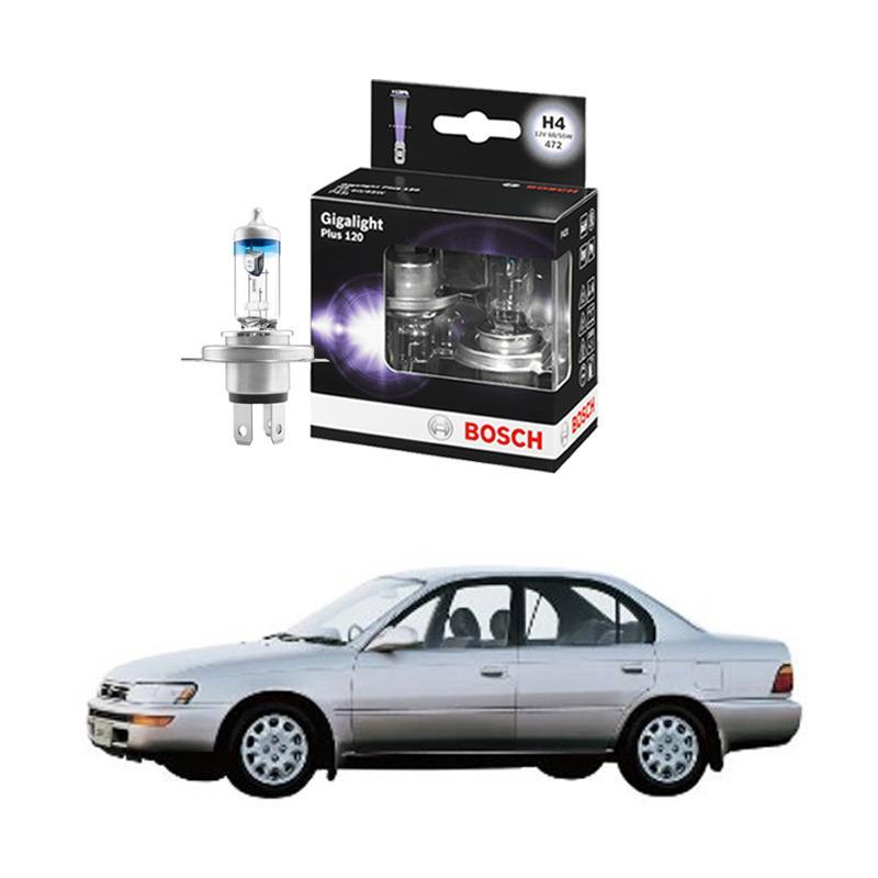 Bosch H4 Gigalight 1987301106 Bohlam Lampu Mobil Untuk Corolla 1.6 Tahun 1992-1996