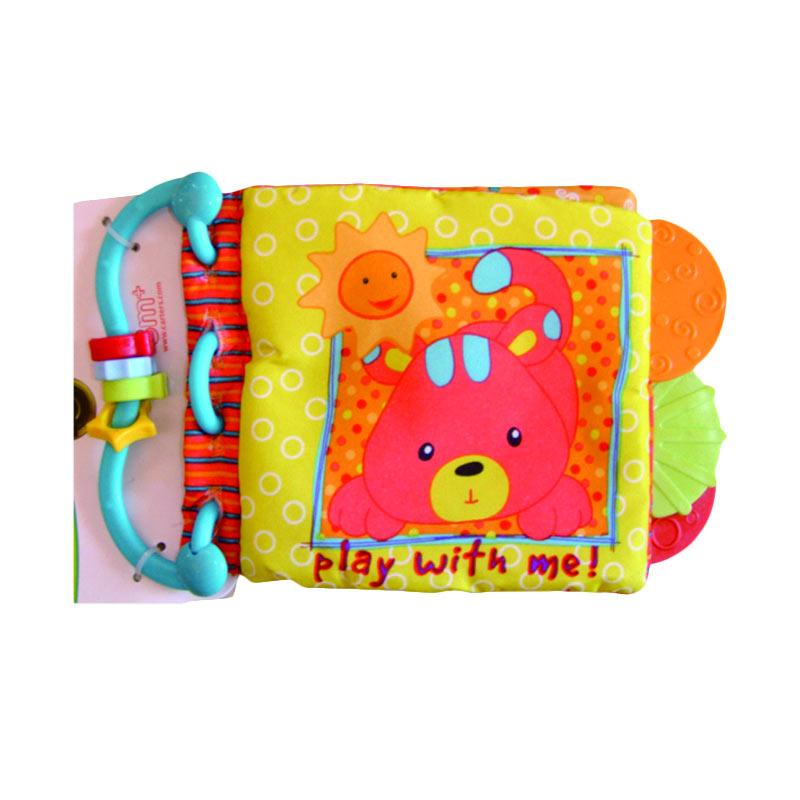 MyKenzie Baby Soft Book Seri Animal Cover Panda Mainan Anak