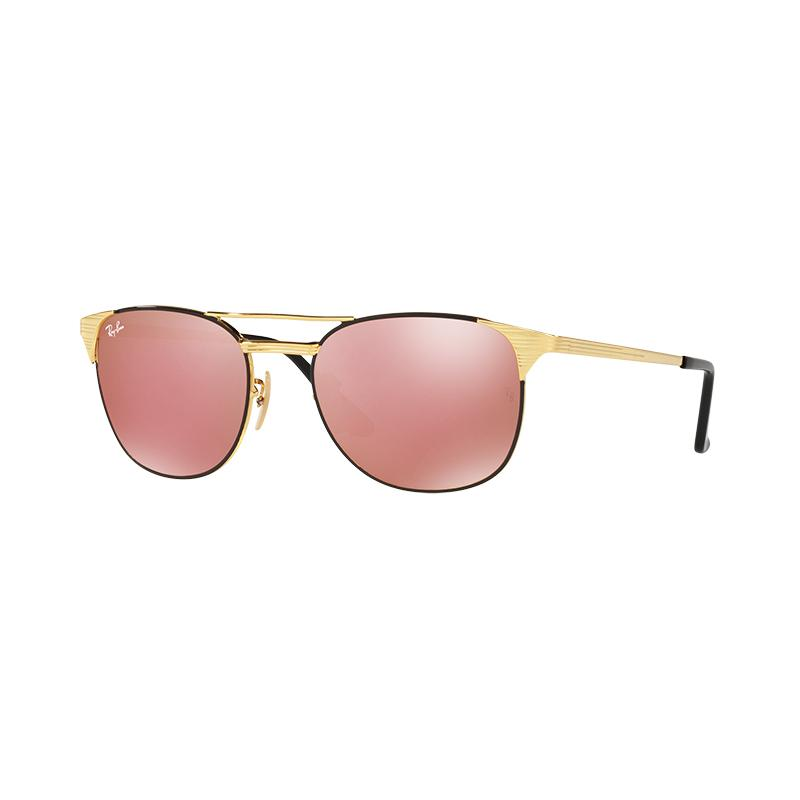 Ray-Ban Rb3429M 9000Z2 Copper Flash Lens Sunglasses - Gold Black [Size 55]