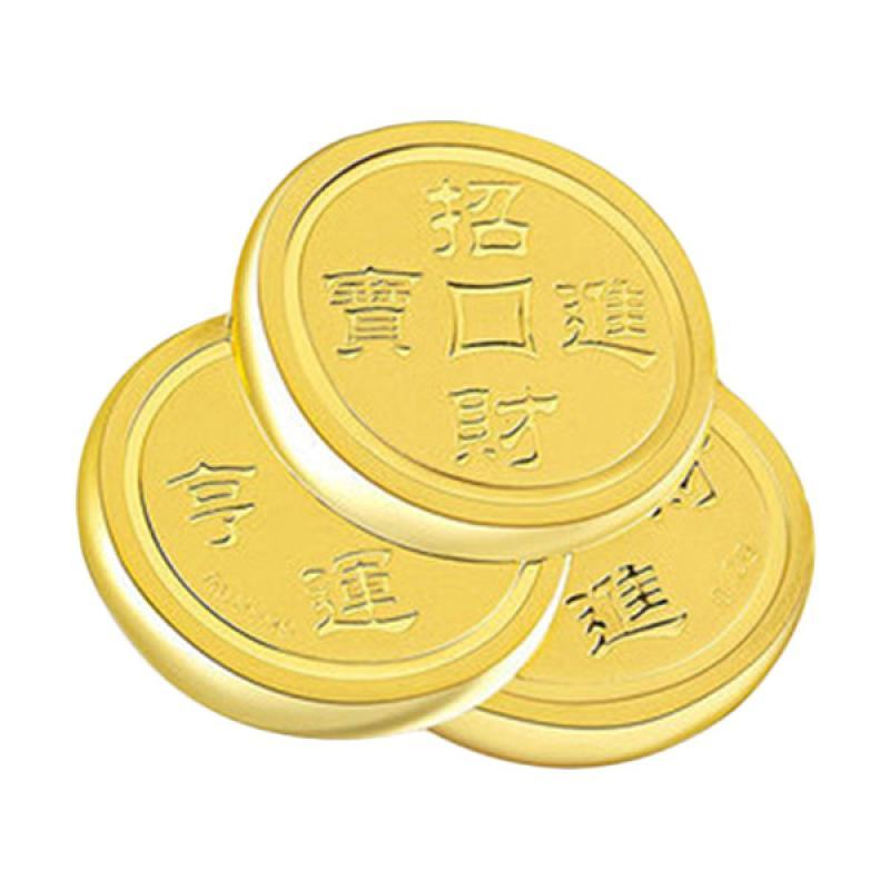 Tiaria 24K Special Gold Coin Gold Bar Logam Mulia [0.2 g]