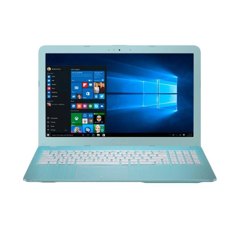 harga WEB_ASUS VIVOBOOK MAX X441NA-BX405T Notebook - Aqua Blue [N3350/4 GB/500 GB/DVD-RW/14