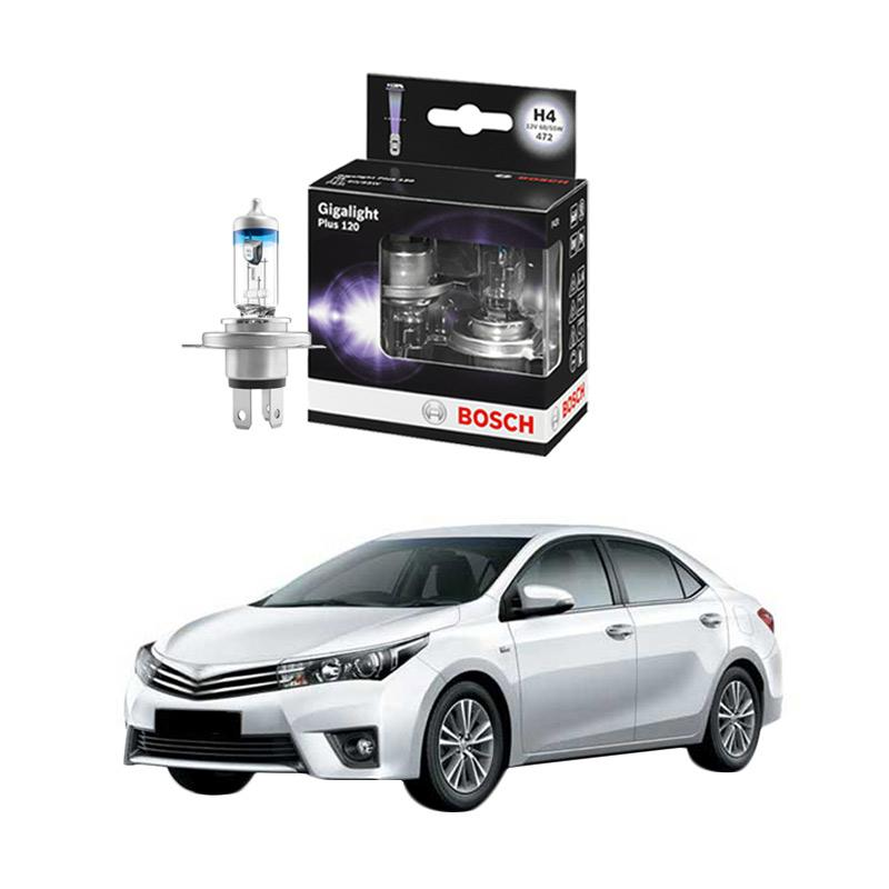 Bosch H4 Gigalight Bohlam Lampu For New Corolla Altis 1.8i 2006 Ke Atas [1987301106]