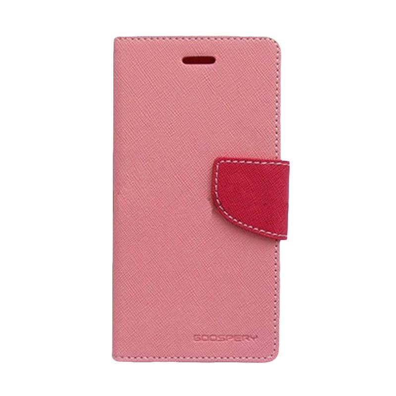 Mercury Fancy Diary Casing for Samsung Galaxy Note 5 N920 - Pink Magenta