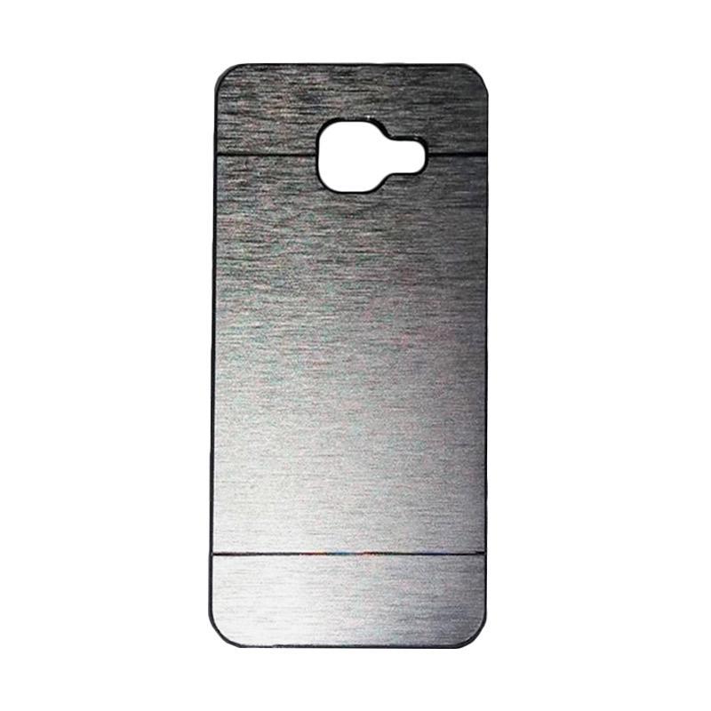 Motomo Metal Hardcase Casing for Samsung Galaxy A3 A310 2016 - Silver