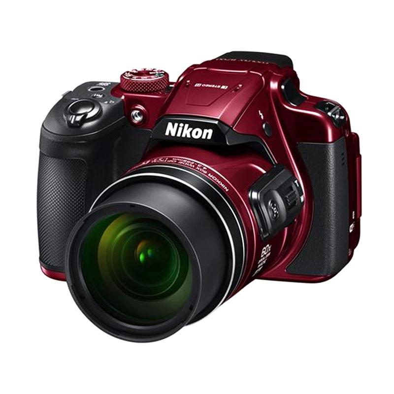 Nikon Coolpix B700 Kamera Prosumer - Merah [20.2 MP/Ultra HD 4K]