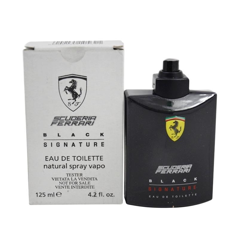 Ferrari Scuderia Ferrari Black Signature EDT Parfum Pria [125 mL]