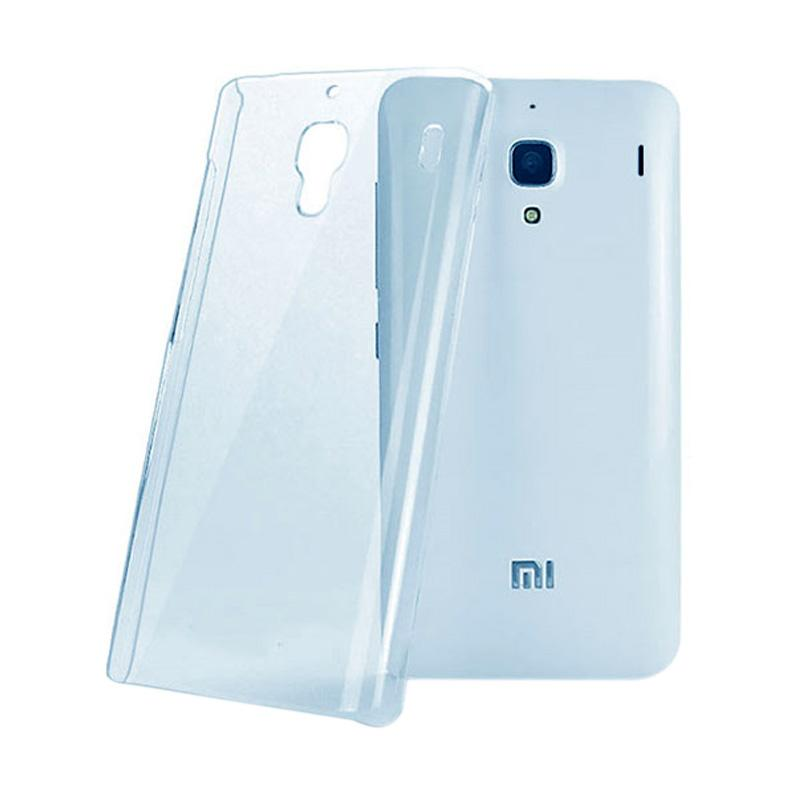 OEM Ultrathin Jelly Softcase Casing for Xiaomi Redmi Note - Blue