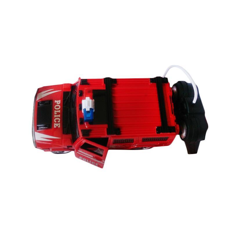 harga Power RX Mobil Polisi Jeep Mainan Remote Control - Merah Blibli.com