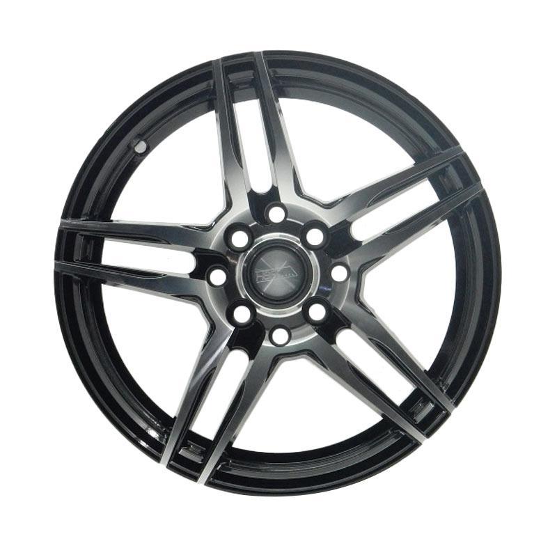harga HSR Wheel Bolt JD5235 Black Machine Face Velg Mobil [Ring 15x65 H8x100/114,3 ET32] Blibli.com