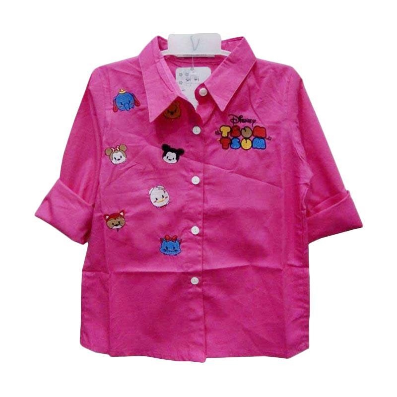 harga Import Kid TsumTsum Baju Atasan Perempuan - Pink Fanta Blibli.com