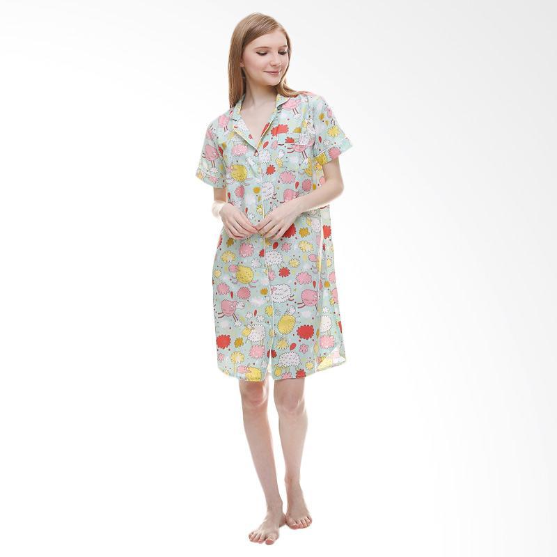 harga Madeleine Piyama Happy Sheep Sleepshirt Baju Tidur Blibli.com