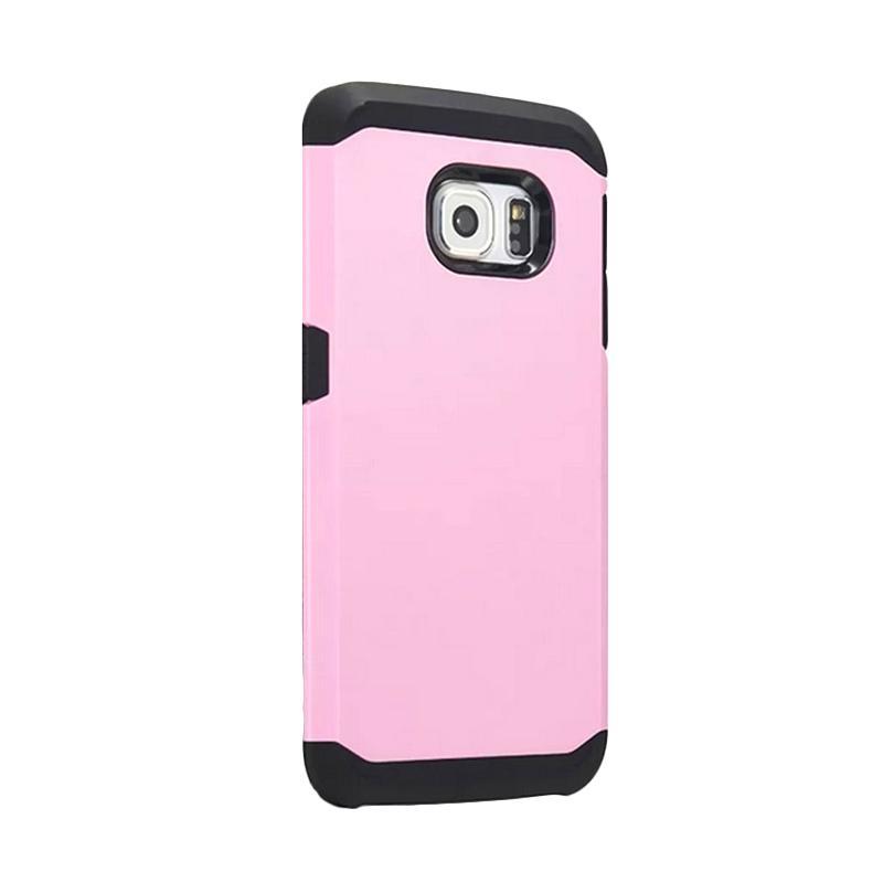 Spigen SGP Slim Armor Casing for Samsung Galaxy S6 Edge - Pink