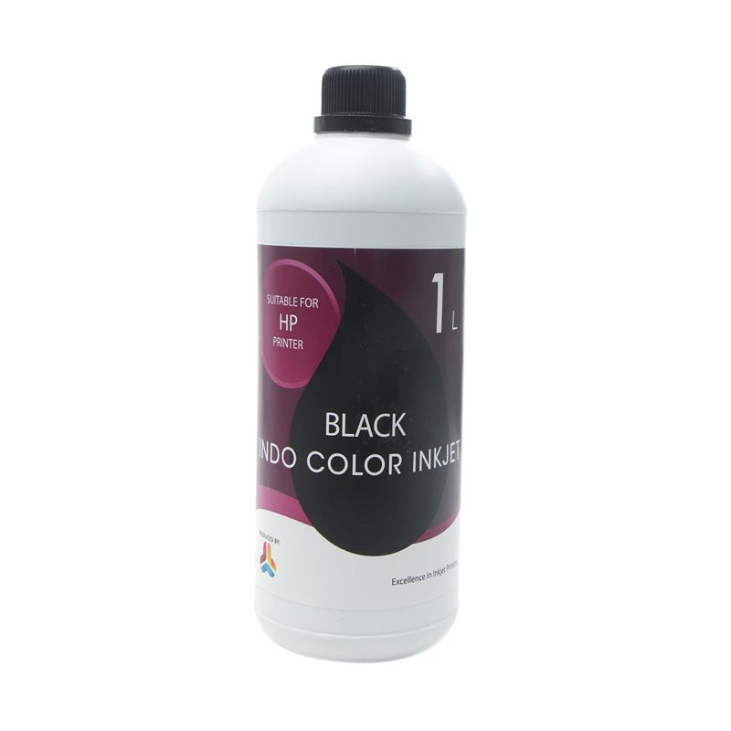 Alphabet Indo Color Inkjet Tinta Refill for Printer HP - Black