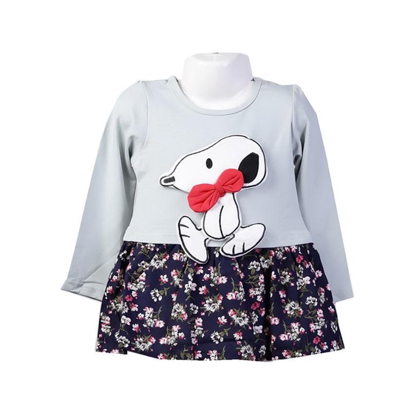 Chloe Babyshop F990 Snoopy Dress Anak Perempuan - Tosca