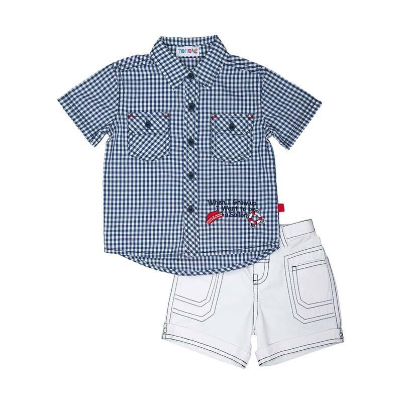 harga Torio Little Sailor Dream Outwear Bermuda Setelan Baju Anak Blibli.com