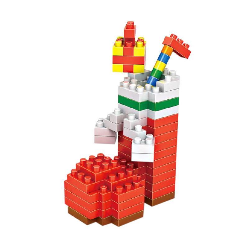 Loz Gift Christmas Stocking 9124 Mainan Blok dan Puzzle [Medium]