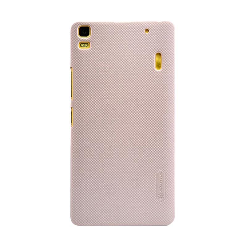 Nillkin Original Super Shield Hardcase Casing for Lenovo A7000 - Gold [1 mm]