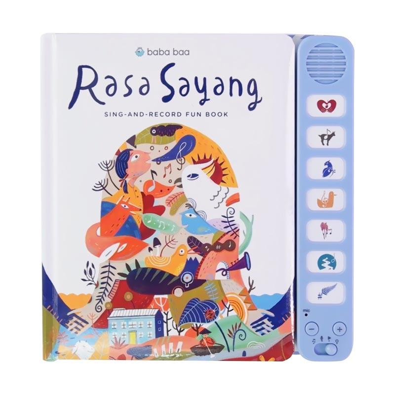 Rasa Sayang Sing And Record Fun Book Permainan Edukasi Anak