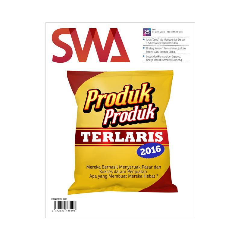 SWA Produk-Produk Terlaris 2016 Edisi 25-2016 30 November - 07 Desember 2016 Majalah